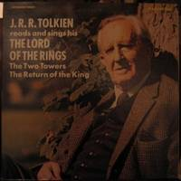 """J. R. R. Tolkien Reads and Sings His """"The Lord of the Rings"""" -  parts 2 & 3 """"The Two Towers"""" & """"The Return of the King"""" -(Caedmon # TC-1478, Long Playing Album)"""