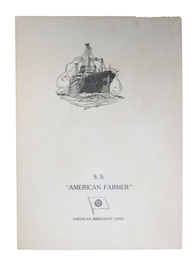 (n.p.), 1930. 1st Printing. White card stock self wrappers, printed in black. Now housed in a mylar ...