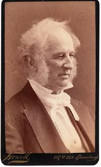 CARTE DE VISITE OF AMERICAN BUSINESSMAN CORNELIUS VANDERBILT, PHOTOGRAPHED BY WILLIAM ROE HOWELL