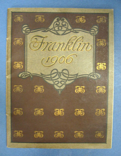 Syracuse / New York: H H Franklin Manufacturing Company. Engravings and Printing by Bartlett & Compa...