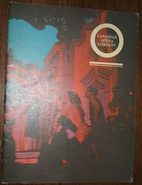 image of Canadian Opera Company Programme 1961/62