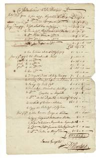 Collection of approximately 20 manuscript letters, invoices, receipts,  relating to the two Howland brothers and others in the Rhode Island Quaker community