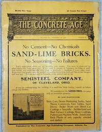 image of The Concrete Age, Vol. III, Number 4 (September 25, 1906)