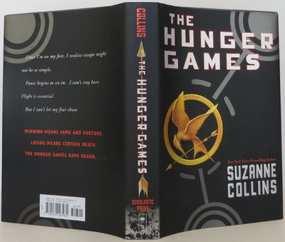 book cover for hunger games