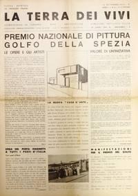 image of La Terra dei Vivi: Nuova Estetica del Paesaggio Italiano. Quindicinale di Turismo - Arte - Architettura.  No. 2 (25 Giugno 1933) through No. 7 (Ottobre 1933)