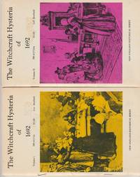 image of The Witchcraft Hysteria of 1692, Volume I and II. (New England Historical Series)