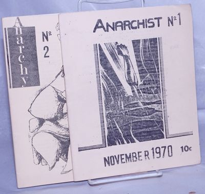 Sydney, Australia: Sydney Anarchists, 1970. Pamphlet. Two issues of the journal (name changed to