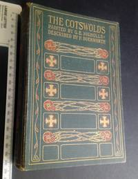 The Cotswolds painted by G F Nicholls 24 Illustrations small fonding map