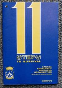 image of 11 STEPS TO SURVIVAL.  BLUEPRINT FOR SURVIVAL NO. 4.