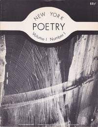 New York Poetry [Volume 1, Number 1]