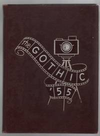 The Gothic '55 High School Yearbook Bloomington Indiana 1955