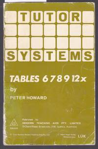image of Tutor Systems : Tables 678912X  : For Use with Tutor Systems 24 Tile Pattern Board