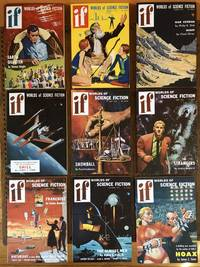 IF. Worlds of Science Fiction. 1955. (Nine issues, complete year)