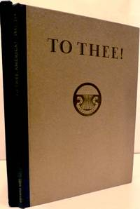 To Thee! A Toast in Celebration of a Century of Opportunity and Accomplishment in America 1847-1947 by  Rockwell Kent - First edition - 1946 - from Royoung bookseller, Inc. (SKU: 17553)