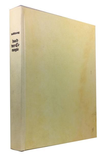 New York: Editions Medicina Rara, 1970. Hardcover. Fine. Facsimile reprint of this rare 1497 German ...