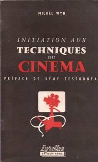 Initiation aux techniques du cinéma