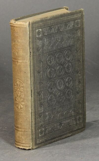 New York: D. Appleton & Co, 1856. First edition, 8vo, pp. xviii, 414; 1 engraved plate and text illu...