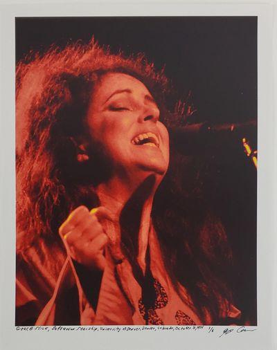 Denver, 1975. Limited Edition. Description: Grace Slick, of the band Jefferson Starship, at the Univ...