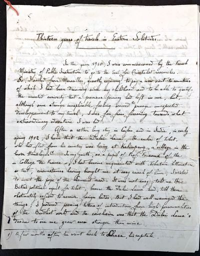 ARCHIVE OF THE FIRST WESTERN WOMAN TO...