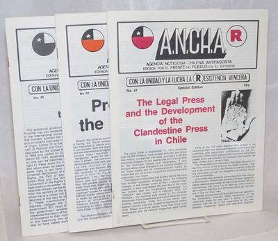 Paris: Frente del Pueblo en el Exterior, 1979. Three issues of the English-language bulletin publish...