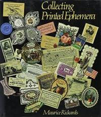 Collecting Printed Ephemera by Maurice Rickards - 1988-05-08