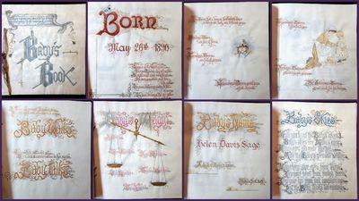 Original Art - Baby's Book Created...