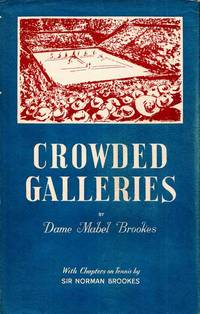 Crowded Galleries by Brookes, Dame Mabel - 1956