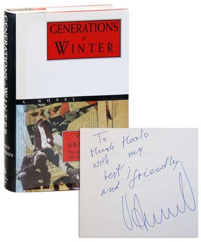 Viking Press: Random House, 1994. First Edition. Octavo. Cloth-backed boards; dustjacket; 592pp. Upp...