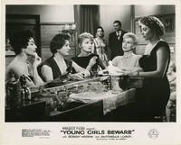 Young Girls Beware (Collection of 7 photographs from the 1957 film)