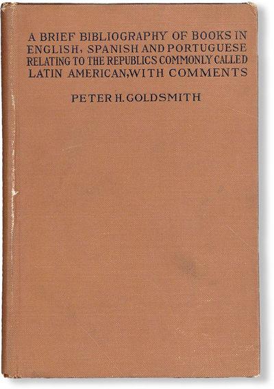 New York: Macmillan Company, 1915. First Edition. Hardcover. Small octavo (ca. 18cm.); publisher's b...