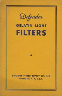 DEFENDER GELATIN LIGHT FILTERS.; [cover title]