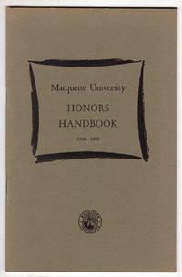 Marquette University Honors Handbook 1968-1969