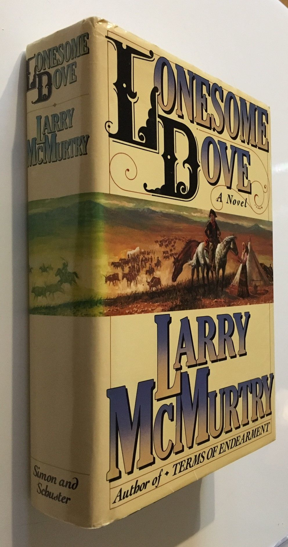 mcmurtry lonesome  9780671504205 - Lonesome Dove by Larry McMurtry