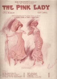 Sheet Music (1) from this Broadway Musical.  Song:  My Beautiful Lady.; Words by C.M.S. McLellan.  Music by Ivan Caryll