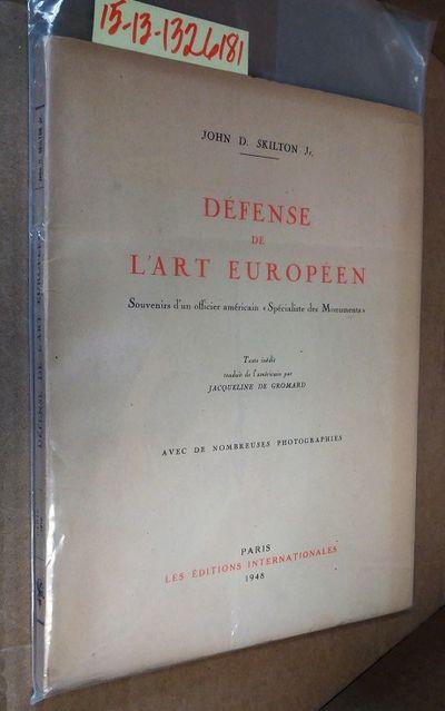 Paris: Les Editions Internationales, 1948. Softcover. Booklet ; pp 100; G-/paperback; dark beige spi...