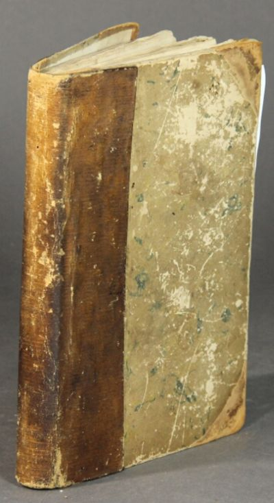 New York: Harper & Bros, 1844. First American edition, 8vo, pp. 207, ; text in double column; bound ...