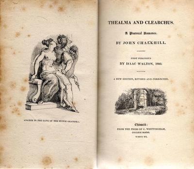 John Chalkhill unique exemplar