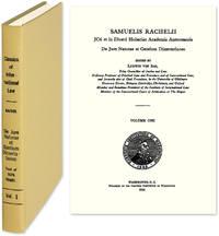 De Jure Naturae et Gentium Dissertationes by  Samuel; Ludwig von Bar (editor & intro.) Rachel  - 1995  - from The Lawbook Exchange Ltd (SKU: 29261)