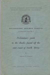 Preliminary Guide To The Sharks Found Off The East Coast Of South Africa