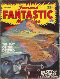 """FAMOUS FANTASTIC MYSTERIES: October, Oct. 1947 (""""The City of Wonder"""")"""