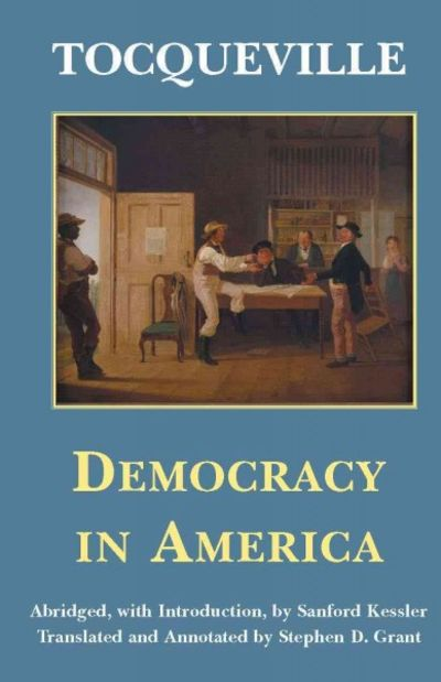 essays on democracy in america by tocqueville Buy democracy in america: and two essays on america (penguin classics) new ed by alexis tocqueville, isaac kramnick, gerald.