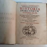 HISTORIA INSECTORUM GENERALIS