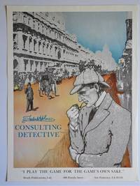"image of Promotional Poster : Sherlock Holmes Consulting Detective "" I PLAY THE GAME FOR THE GAME'S OWN SAKE """