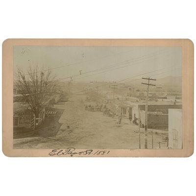 Cabinet Card Photograph of El Paso...
