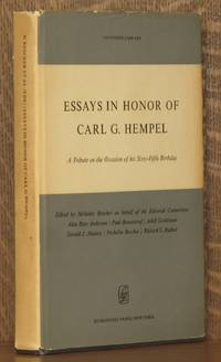 ESSAYS IN HONOR OF CARL G. HEMPEL - A TRIBUTE ON THE OCCASION OF HIS SIXTY-FIFTH BIRTHDAY