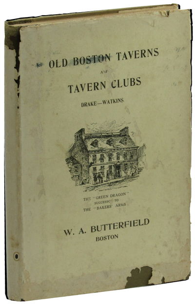 Boston: W.A. Butterfield, 1917. Hardcover. Very Good. 124pp; folding map tipped in at rear. Offsetti...