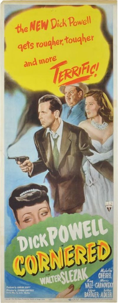 Culver City, CA: RKO Radio Pictures, 1945. Original one sheet poster for the 1945 film noir. An over...