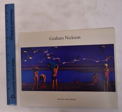 1986. VG. Wraps. 26 pp. 4 bw, 8 color plates. Lists 22 works.
