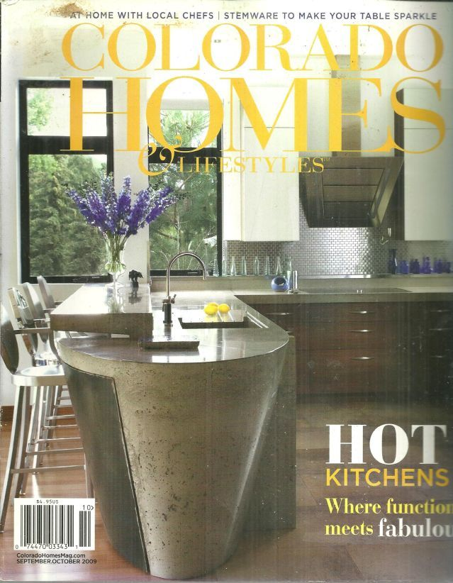 COLORADO HOMES AND LIFESTYLES MAGAZINE SEPTEMBER/OCTOBER 2009, Colorado Homes