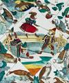 View Image 1 of 4 for Jeu du Jardin Zoologique. Thiergarten-Spiel Inventory #1002684